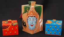 Raghurajpur_painted_Wooden Boxes 2