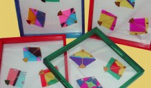 Trays with Handmade Kites